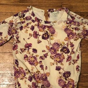 Girls Lucky brand cold shoulder blouse